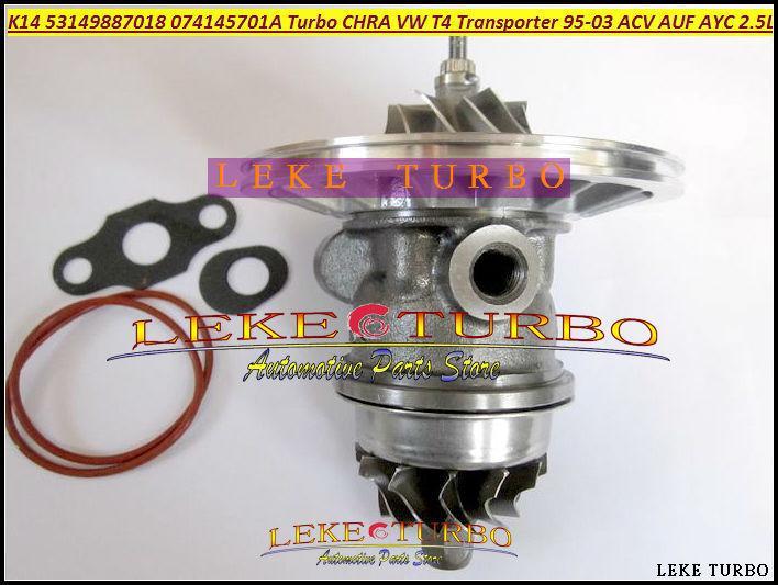 K14 53149887018 53149707018 074145701A Turbocharger Cartridge CHRA Turbo For Volkswagen VW T4 Transporter 1995-03 ACV AUF AYC 2.5L TDI (3)