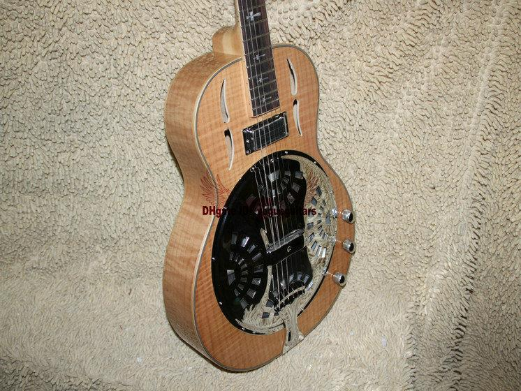 custom wood dobro electric guitar high quality electric guitar electric guitar amp electric. Black Bedroom Furniture Sets. Home Design Ideas