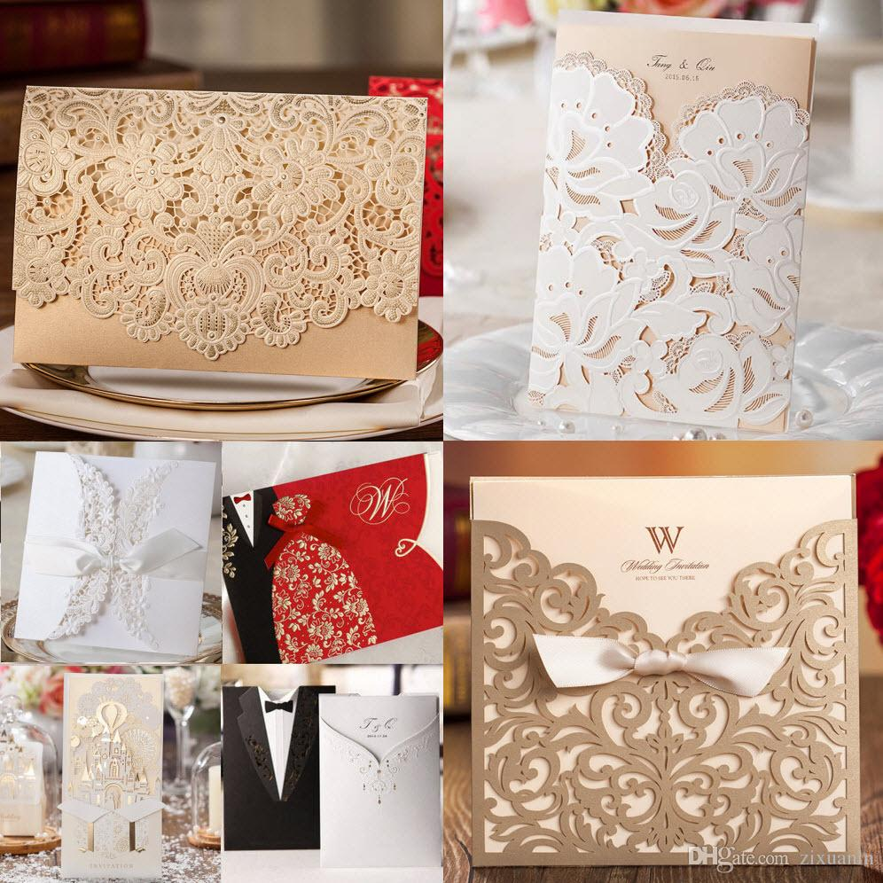 Samples, Collection Of Best Selling Wedding Invitations Cards, Candy ...