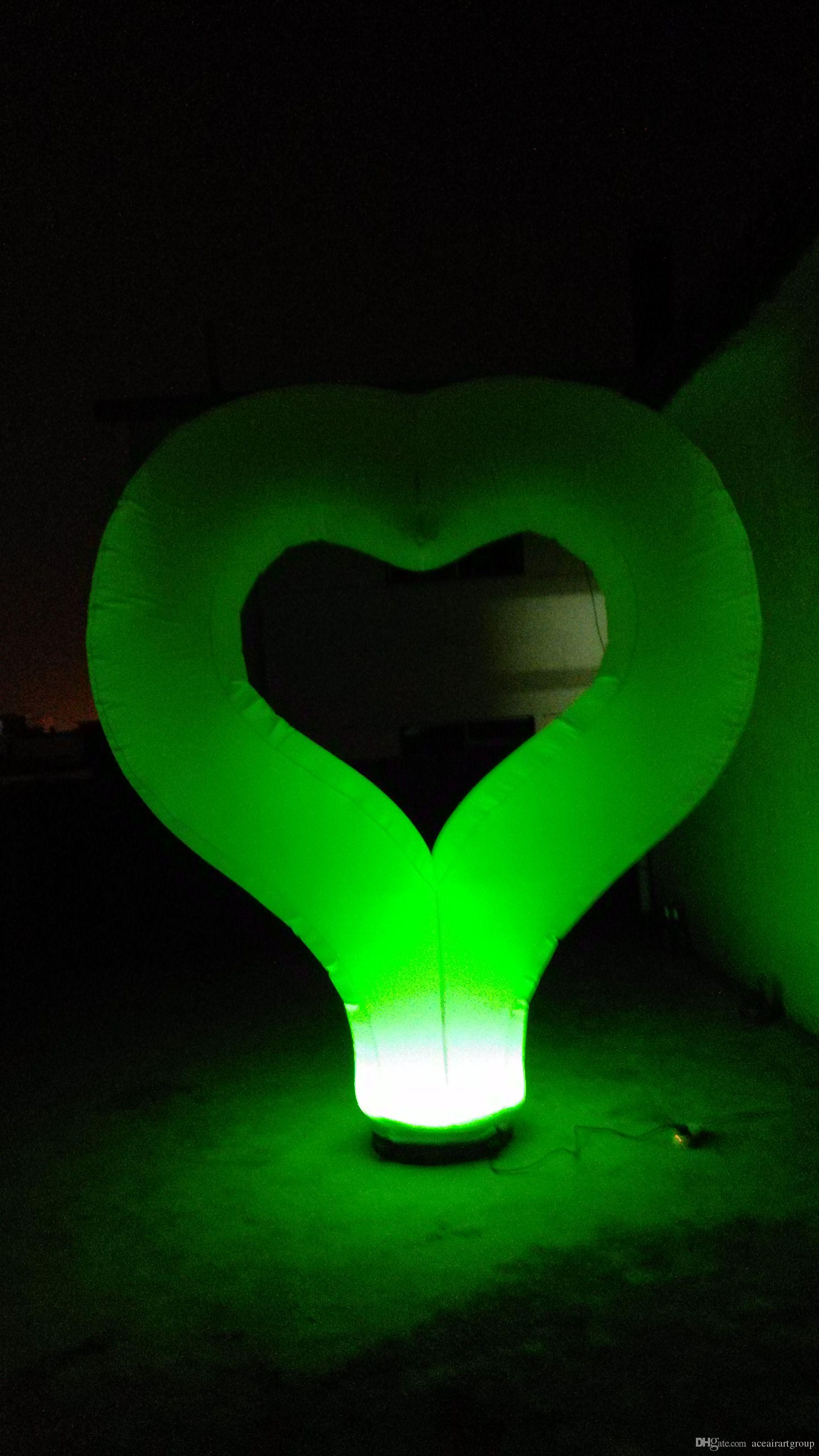 Inflatable Heart for Valentine s Day wedding party Decoration with