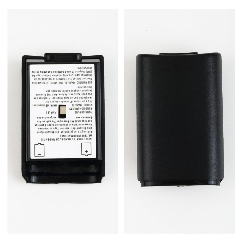 Paquete de batería cubierta del paquete Shell Shield Kit de caja de baterías AA para Xbox 360 controlador inalámbrico consola Gamepad al por mayor