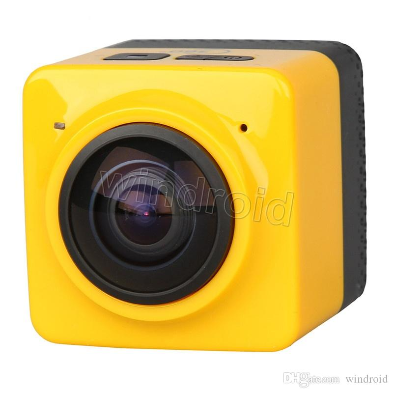 Panoramic CUBE 360 Mini Sports Action Camera 360° 190° VR Camera WiFi Camera H.264 1280*1042 720P Video Mini Camcorder colorful cheapest 30