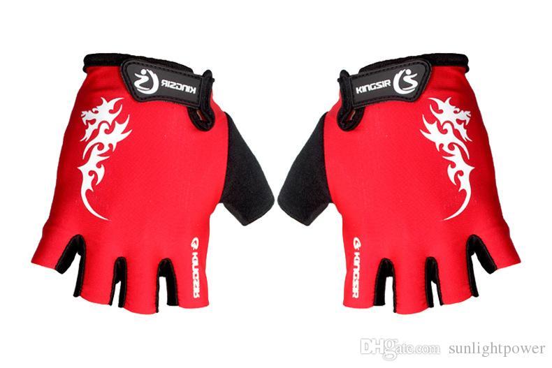 CoolChange Велоспорт перчатки половина Finger мужские женские летние велосипед перчатки нейлон Спорт горный велосипед перчатки Guantes Ciclismo