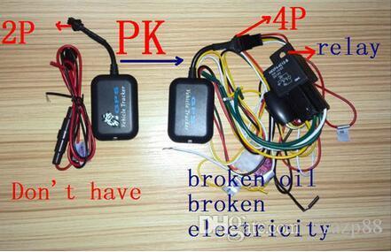Mini GPS GPRS GSM Echtzeit SMS Netzwerk Fahrzeug Fahrrad Motorrad Monitor Tracker