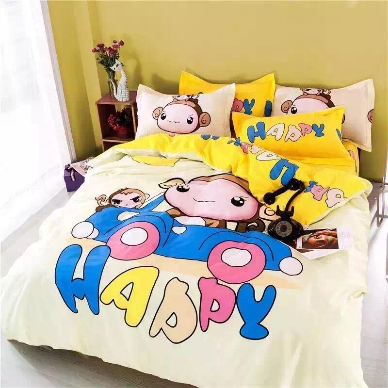 Bright Yellow Bedding Sets Kids Bedding Sets Children Bedding Warm Home  Textiles Duvet Cover Sets Queen Size Twin Bedding Sets Boys Kids Twin  Comforter Set ...
