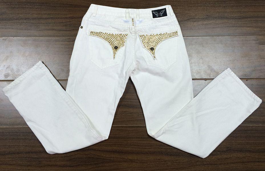 новый 905 горячие мужские дизайнерские джинсы мужчины robinfamous Марка Робин джинсы джинсовые с крыльями американский флаг джинсы плюс размер