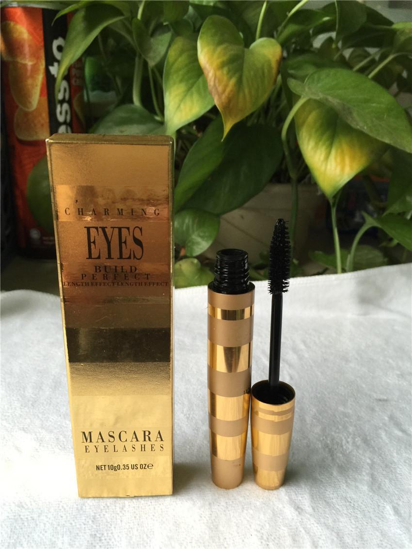 Famous Brand Waterproof Mascara Eyelashes Curls Lashes Black Volume Mascara Length Effect M Makeup Charming Eyes Build Perfect Cosmetics