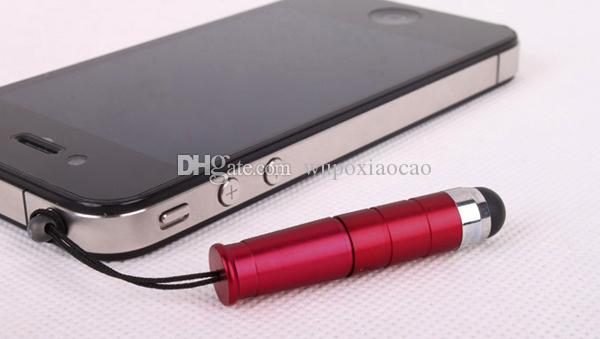 Mini Stylus Touch Screen Pen With Anti-Dust Plug For ipad iphone For Capacitive Screen Phone and Tablet PC