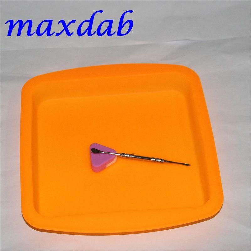 Casseroles de cire de tapis de silicone de 8 '* 8' étouffent les outils de Dabber de Dabber de Dabber de Stab Dab BHO la chambre de vide d'huile de miel de Butane dégustant des plats de cire