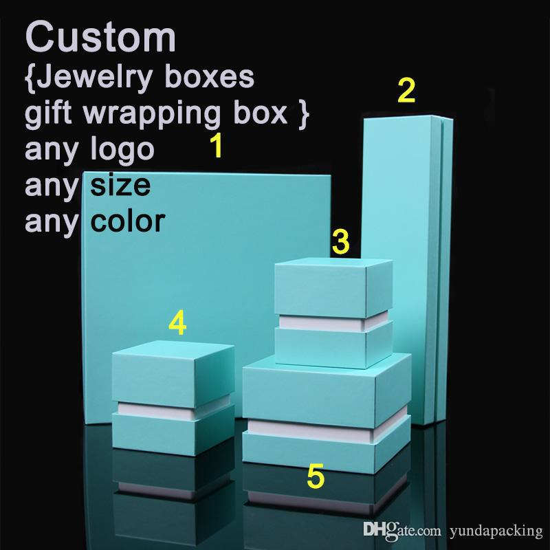 Customized Boutique Jewelry Boxes High Quality Gift Wrapping Paper