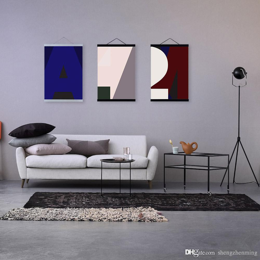 Acquista Art Mild Fall In Love Con Lettera Modern Abstract Stampe ...