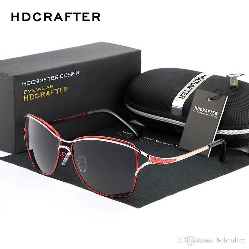 Großhandel 2018 Hdcrafter Katzenauge Frauen Sonnenbrille Brille ...