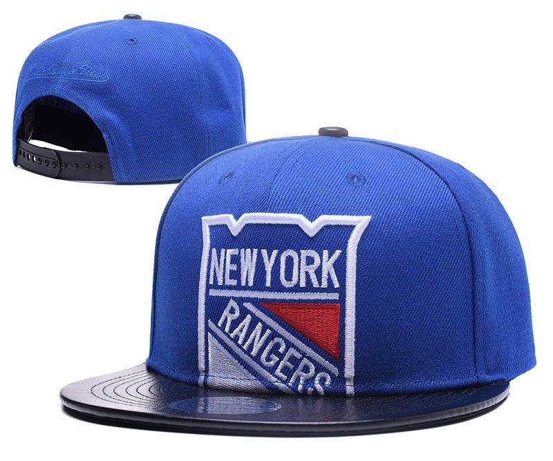 pretty nice f9d49 35e14 france top quality mens new york rangers blue top flat snapback hats  fashion hip hop adjustable