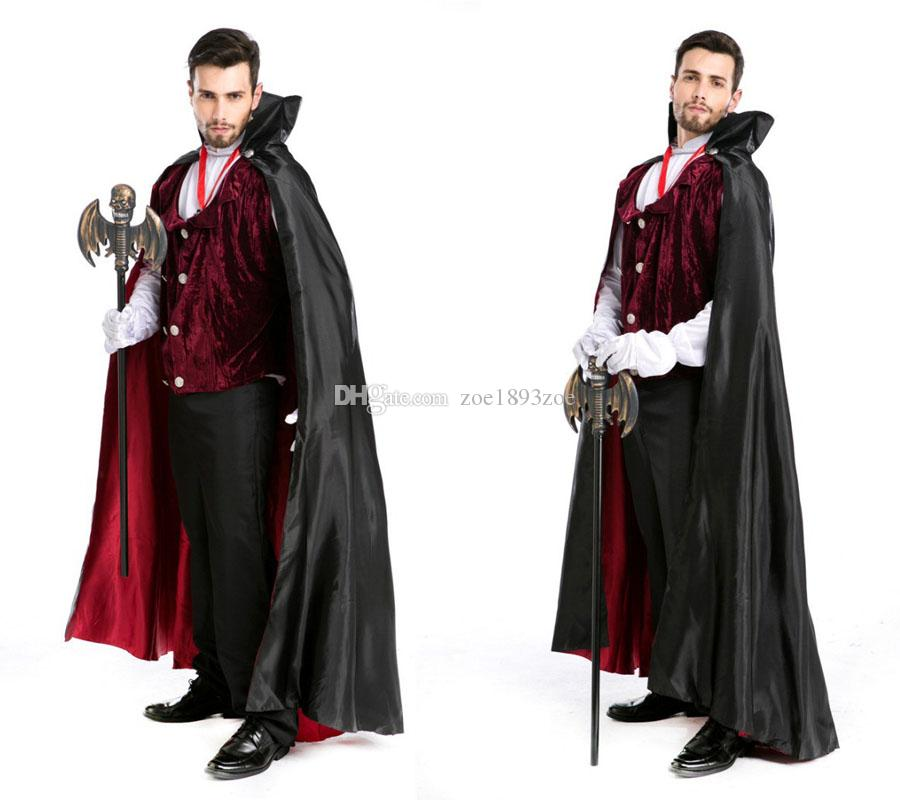 Halloween Costume Party Earl Of Noble V&ire Costume Zombie Costumes Carnival Costume Swallowtail Dresses Uniform Temptation Halloween Costume Couples ...  sc 1 st  DHgate.com & Halloween Costume Party Earl Of Noble Vampire Costume Zombie ...