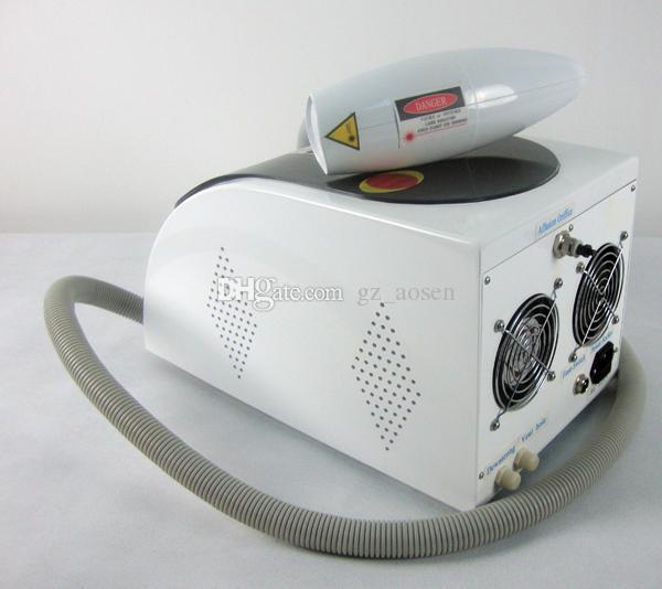 2018 máquina más nueva del laser de la máquina del retiro del tatuaje del interruptor del laser Q de Yag del Portable