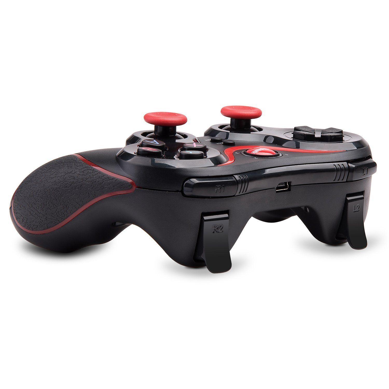 Controlador de juegos inalámbrico Bluetooth Gamepads GEN GAME S5 Joystick Gamepads para IOS iPad Android Smart TV con soporte
