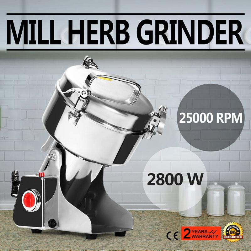 1000g high speed electric herb coffee beans grain grinder cereal mill flour powder machine from sihao dhgatecom - Grain Grinder