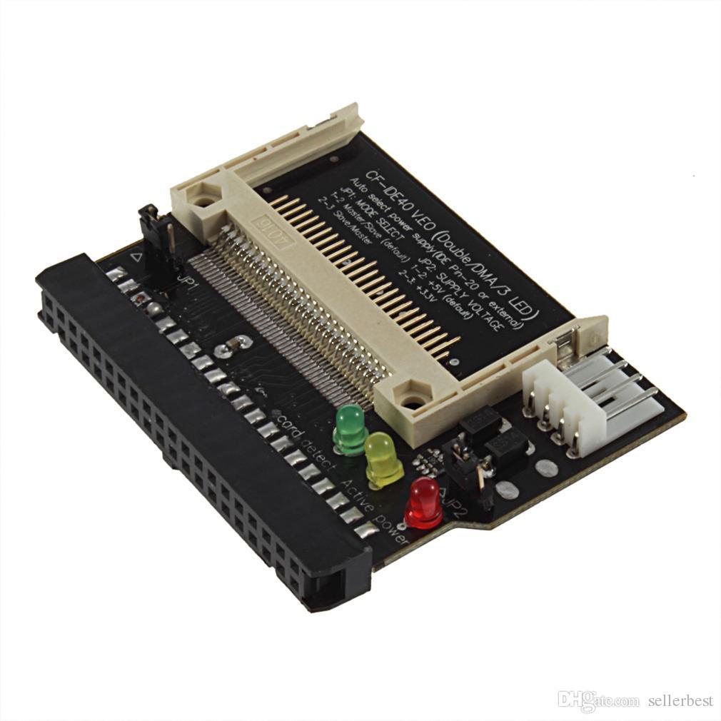 Адаптер Конвертер Compact Flash CF на 3.5 Женский 40-контактный IDE Загрузочная карта Новый бренд Free / Drop Shipping