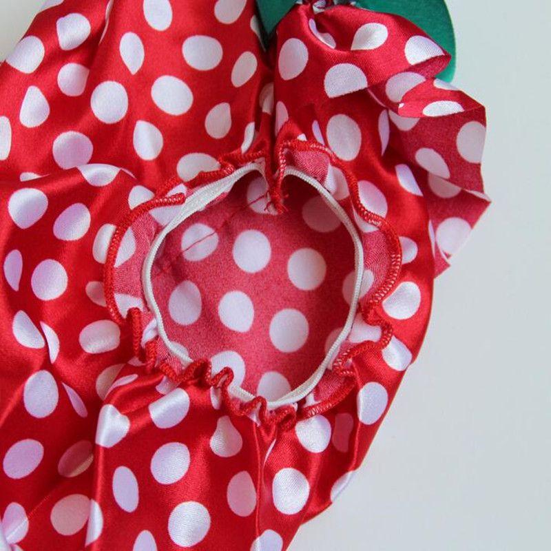 Großhandelsweihnachtsbaby-rote weiße Polka-Punkt-Rüsche-Mädchen-Bloomers-Satin-Baby scherzt Shorties-Hose mit Bogen