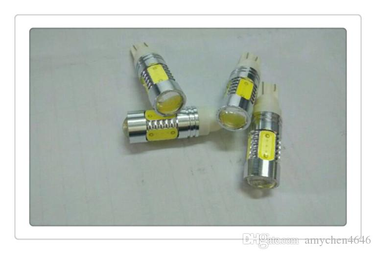DC 12V 1156/1157 / T10 / T15 / T20 SMD BA15S S25 P21W ha condotto la lampada Ultra Bright Backup Luce retromarcia auto illuminazione