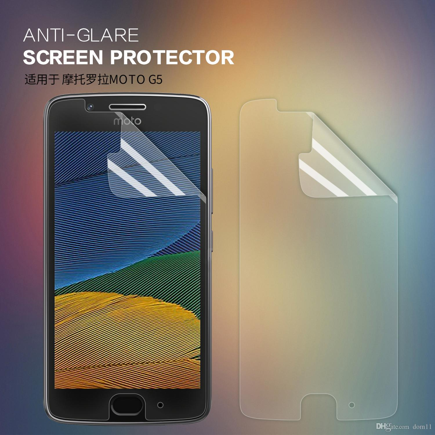 Moto G5 Screen Protector Nillkin Anti Glare Matte Moto G5 Protective With Retailed Package Tempered Glass Screen Protector Cell Phone Display