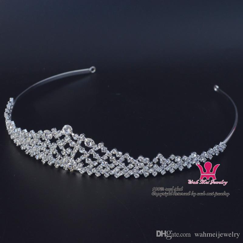 Piccoli gioielli strass Flower Tiara Fascia Wedding Crown Accessori capelli Gioielli Estremamente bella e delicata Design Hair wear 02253
