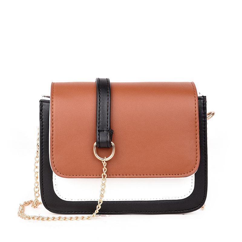 Metal Color Chain Female Bag Fashion Sheepskin Crossbady HandBags ... ed4f7197724b5