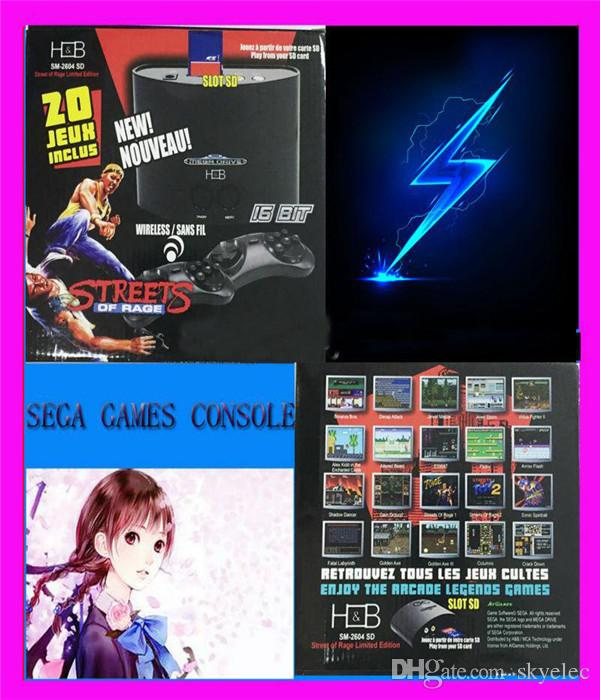 Console Game Cartridges Shipping 16bit Video Sega Video Player MD Built Games Mega Drive Special Domestic Shell PS3 Thick Casing Machine