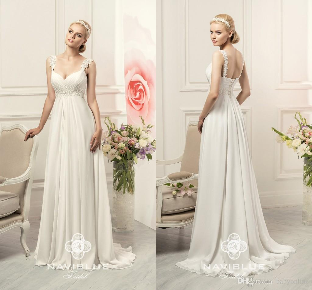 Discount Designer Wedding Gowns: Discount 2017 New Designer Cheap A Line Wedding Dresses