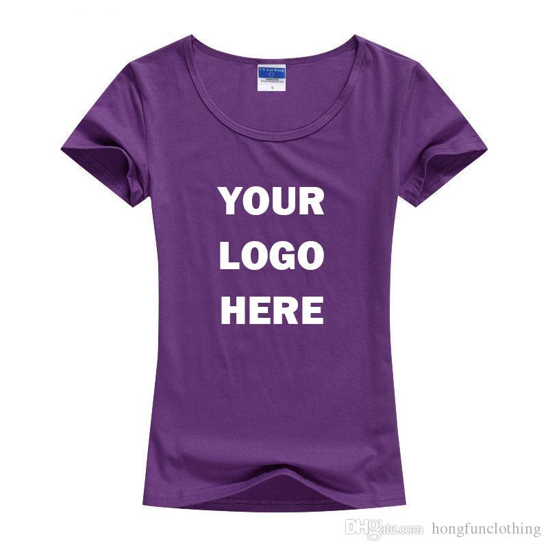 Custom made screen printed women 39 s t shirts print one for Best online custom shirts