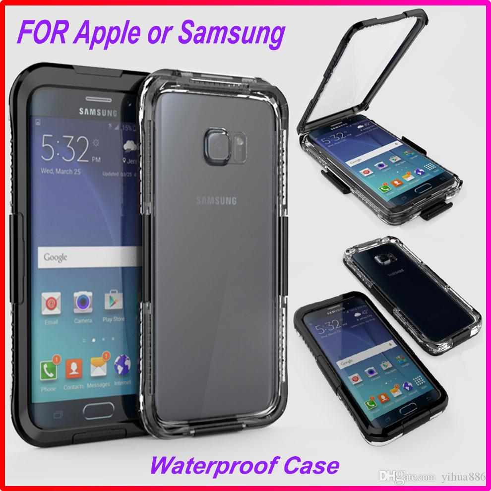 fb7e66a9a6febb IP 68 3 Meter Waterproof Shockproof Heavy Dive Case Cover For Iphone 6 6  Plus Samsung Galaxy S6 Edge S7 Edge Note 4 Note 5 Uncommon Cell Phone Cases  ...