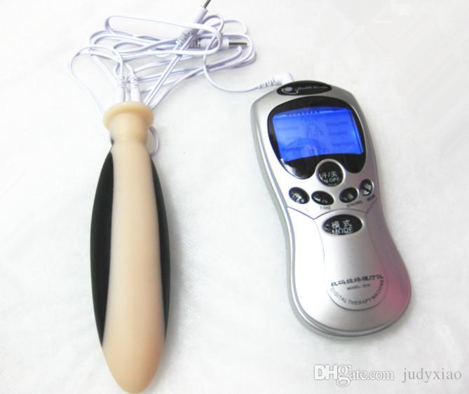 ホットエレクトロショックエレクトロパルスショックペニス物理療法リング拡大収集、性欲刺激灯、SMアダルトセックス