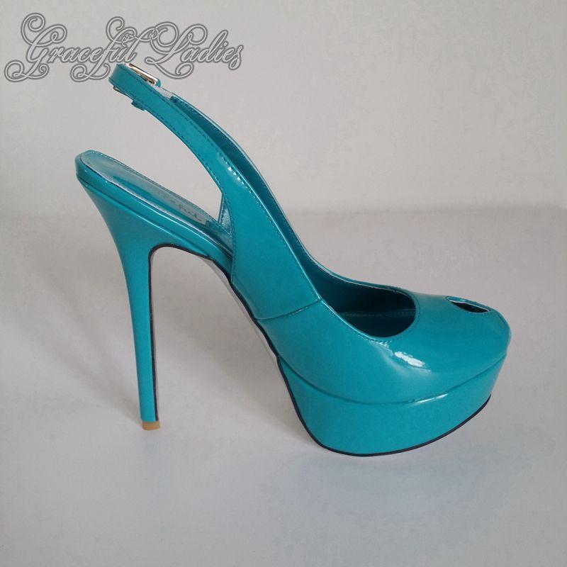 Real Image Sandalias Mujer Womens Woes la moda estiva Ladies Evening Shoes Buckle Strap Sexy Custom Made Plus Size Sandali eleganti