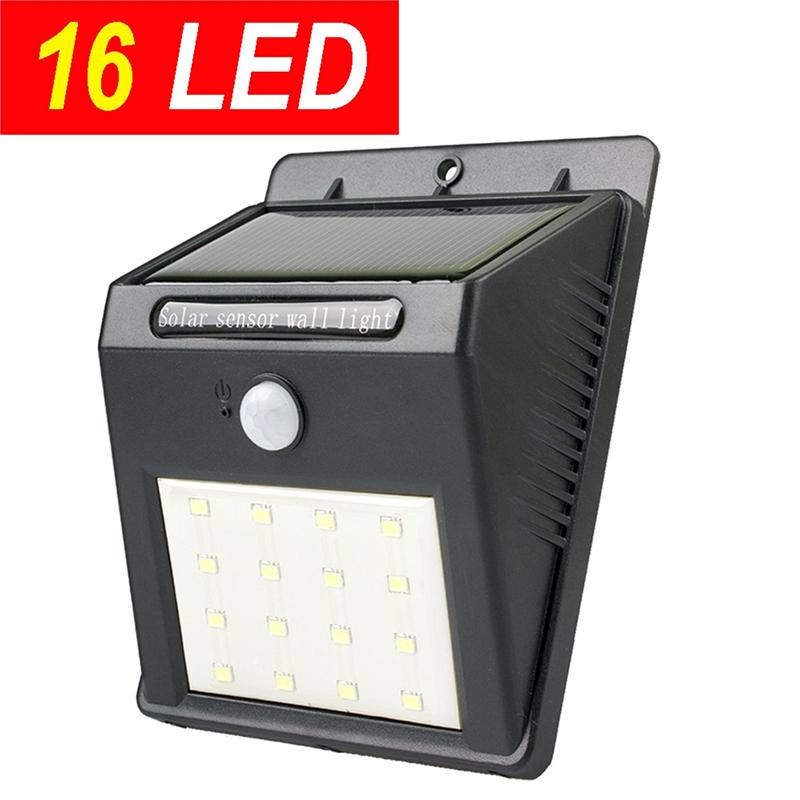 Promotion16 led super bright solar sensor outdoor wall light motion promotion16 led super bright solar sensor outdoor wall light motion activated security light garden patio emergency lighting led solar sensor outdoor wall aloadofball Images