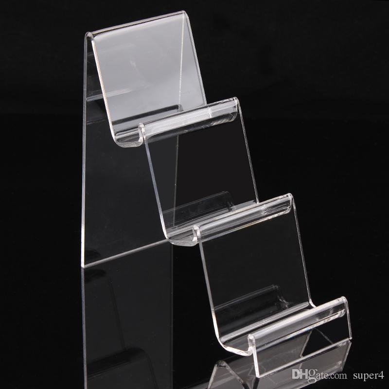 modi di trasporto DHL chiare Braccialetti acrilici braccialetti guardano portafoglio titolare gioielli espositore con nuovo piacevole A91 disegno