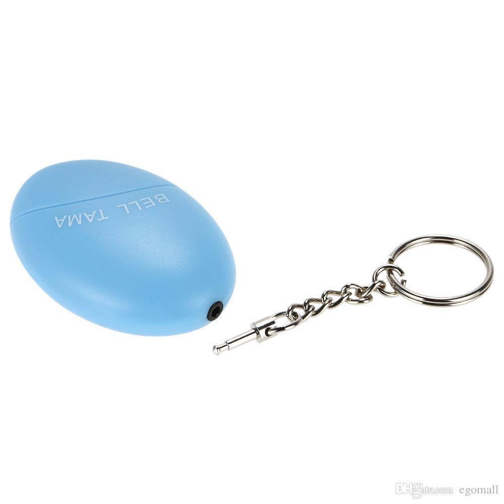 Persönliche Alarmanlagen Bell Tama Loud Safe Stabile 120 Dezibel Mini Tragbare Keychain Alarm Sicher Fußball Panik Anti Vergewaltigung Angriff Sicherheit