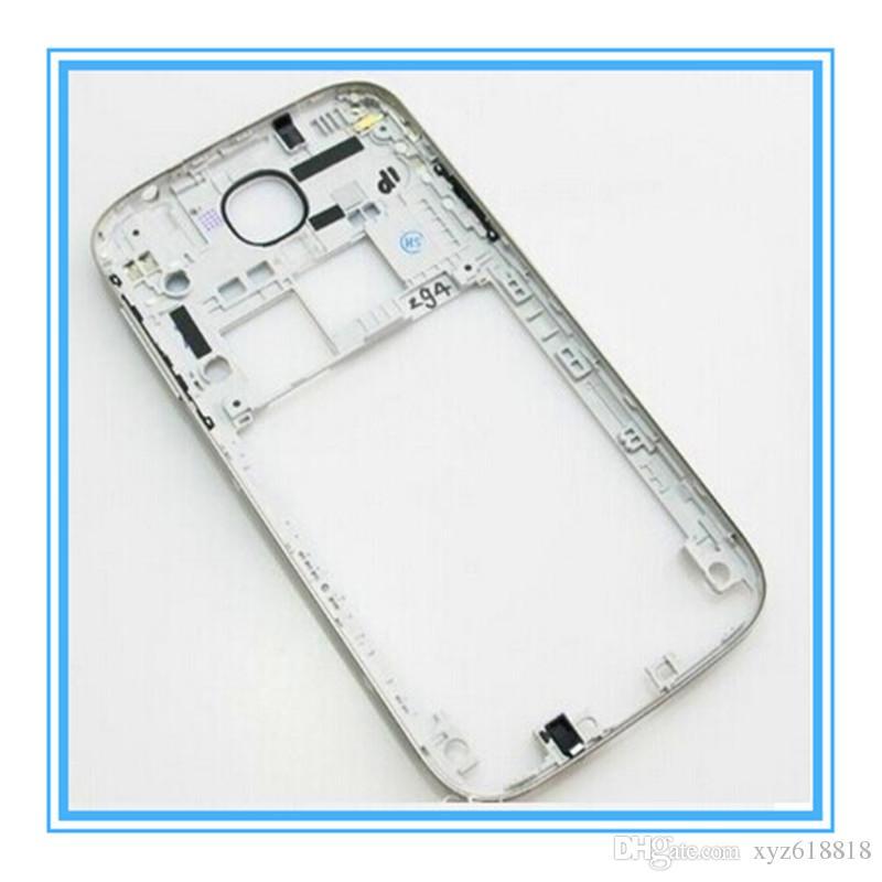 Оригинальные новые запасные части среднего шасси пластины ободок крышка корпуса рамка для Samsung Galaxy S4 i9500 i9505 i9506 i337 Бесплатная доставка