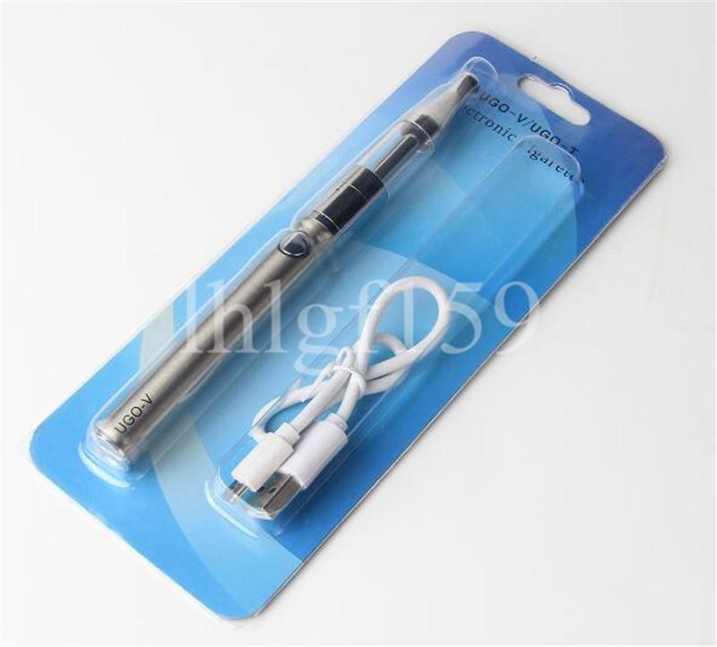 Hot UGO-V EVOD Kit Battery eGo UGO-T 650/900/1100mah USB Passthrough Electronic Cigarettes Battery With Mini Protank Tanks mini blister kit