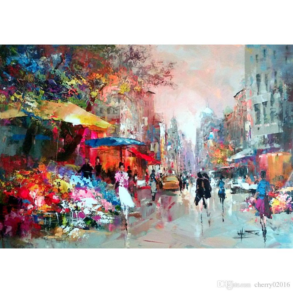 Willem Haenraets  Willem-haenraets-art-paintings-city-view
