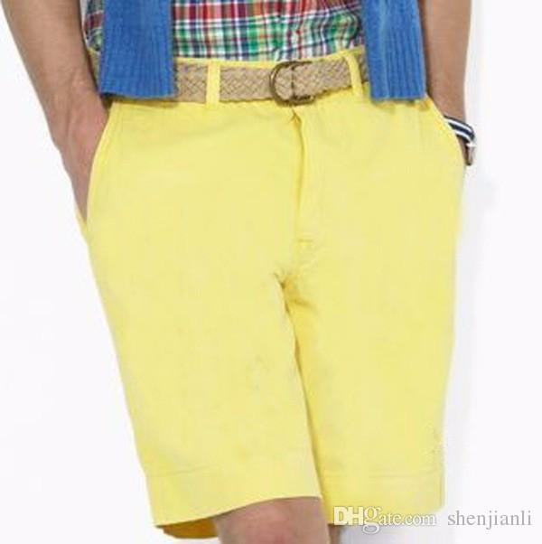 Il trasporto all'ingrosso di goccia 2016 di alta qualità in cotone da uomo pantaloncini casual moda maschile shorts maschio pony palla pantaloncini i taglia M-XXXL
