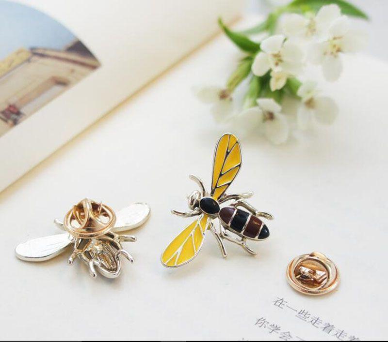 Мода ювелирных изделий корейской броши изысканных пчелка животное брошь милая мультфильм брошь булавка корейская игла