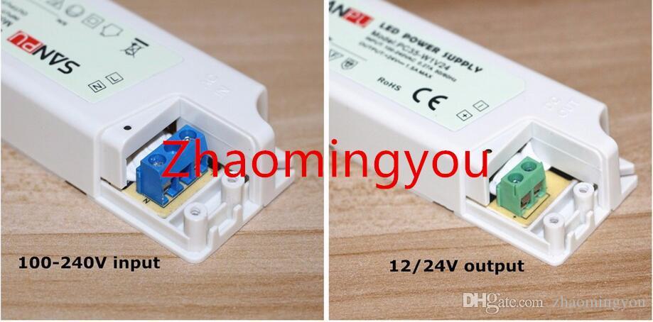 36 W 12 V 1 A 3 A Bloc d/'alimentation Adaptateur secteur transformateur driver pour DEL SMD RGB Strip Bande