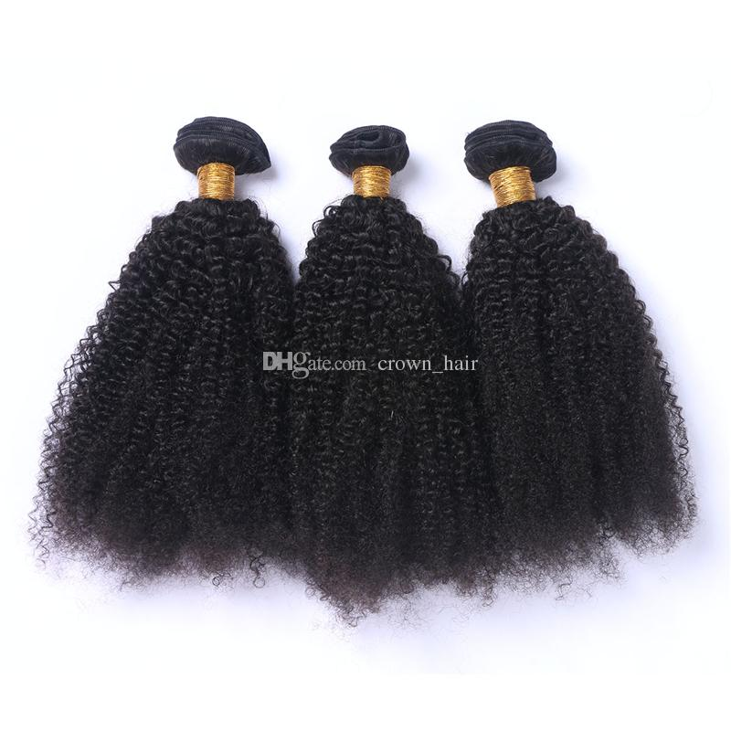 Hot Sale Cheap Kinky Curly Human Hair Bundles 8A Mongolian Afro Kinky Curly Hair Extensions For Black Woman