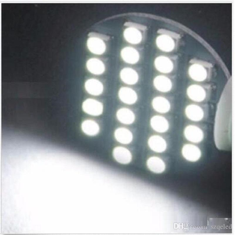 Kama T10 24 SMD LED 194 921 W5W 1210 147 168 192 RV Işık Lamba Ampuller Beyaz toptan fiyat