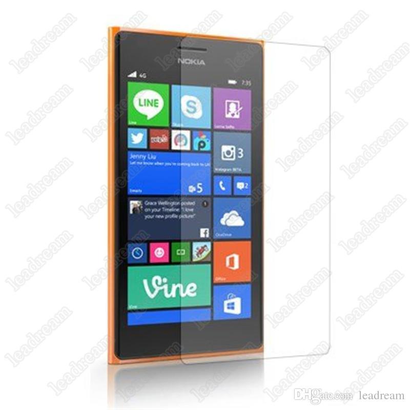 Protector de pantalla táctil a prueba de explosiones 9H 0,3 mm Vidrio templado para Nokia Lumia 520 620 630 730 820 920 925 930 1020 1320 1520