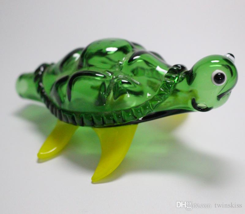 Superior Cool Pipes Part - 8: Online Cheap Green Fashion Turtle Glass Pipes Novelty Glass Smoking Pipe  Animal Glass Pipes Totally Cool By Twinskiss | Dhgate.Com