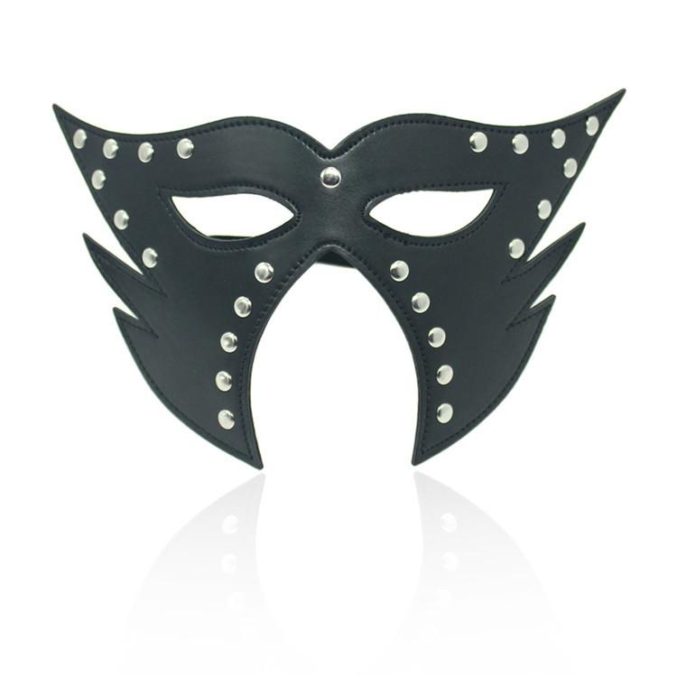Jogos de Sexo Adulto Máscara de Olho Preto SM Use Blindnfold Sexo Flertando Use Eyemask Para Festa de Cosplay