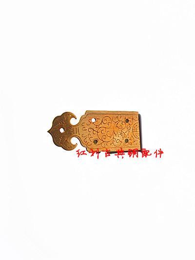 [Aksesuarlar] antika bakır bakır bonus klasik iki açı / mobilya mücevher kutusu kutusu köşe köşe 5 cm