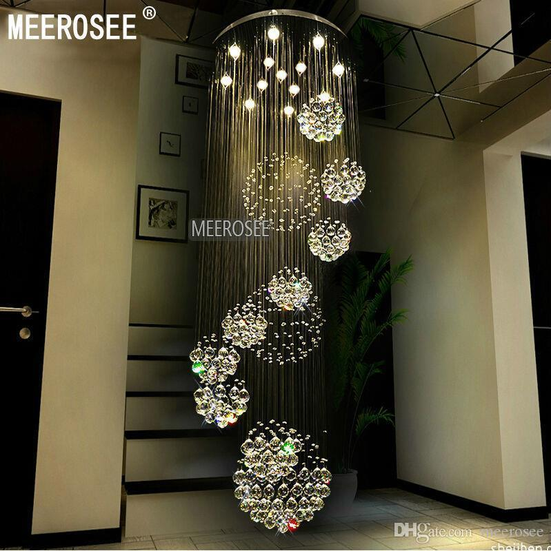 Discount modern large crystal ceiling light fixture for for Best online lighting store