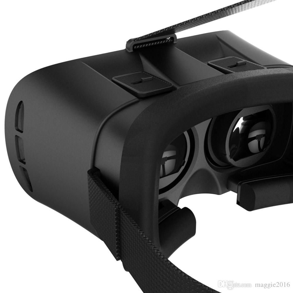 New Virtual Reality VR BOX II 2.0 Version 3D Glasses Google Cardboard VR Glasses 3D Video Movie Game For Smartphones 4.7-6 inch
